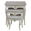 Lily Manor Dounia 3 Piece Nest of Tables