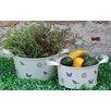 Castleton Home Round 2 Piece Plant Pot Set