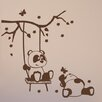 Style and Apply Panda Friends Wall Decal
