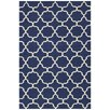 Bakero Maria Hand-Woven Dark Blue/White Area Rug