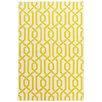 Bakero Camila Hand-Woven Yellow Area Rug
