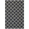 Bakero Eugenie Hand-Woven Dark Grey Area Rug