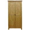 Hazelwood Home 2 Door Wardrobe