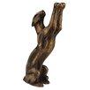 World Menagerie Manan African Cat Sculpture