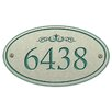 The Stone Mill Corian 1-Line Wall Address Plaque
