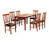 Three Posts Wallkill Dining Table and 6 Chairs