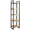 LoftDesigns 200 cm Bücherregal Bundyhill