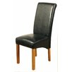 Hazelwood Home Gosport Solid Oak Upholstered Dining Chair (Set of 2)