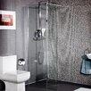 Cassellie 90cm x 200cm Hinged Shower Door
