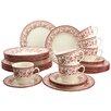 Creatable Storia 30 Piece Dinnerware Set with Mug, Service for 6