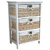 Wildon Home Maize 3 Drawer Cabinet
