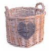Artesania San Jose Willow Basket with Heart