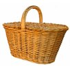 Artesania San Jose Oval Willow Basket with Cover