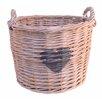 Artesania San Jose Willow Basket with Heart