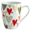 Fairmont and Main Ltd Hearts Mug (Set of 4)