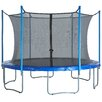Upper Bounce 12' Round Trampoline Net Using 6 Poles or 3 Arches