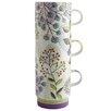Fairmont and Main Ltd 3-tlg. Kaffeetassen-Set Leaf and Ferns