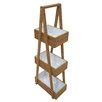 Belfry Bathroom Bamboo and MDF Free Standing Shower Caddy