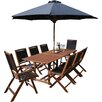 Rowlinson Bali 8 Seater Dining Set