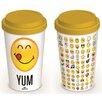 Art Group Smiley Emoticon Travel Mug