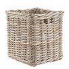 Castleton Home Rattan Square Storage Basket