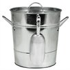Twine Country Home Galvanized Steel Ice Bucket