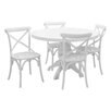 Lily Manor Baume Dining Set with 4 Chairs