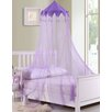 Casablanca Kids Harlequin Kids Collapsible Hoop Sheer Bed Canopy