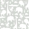 NuWallpaper It's a Jungle in Here 5.5m L x 52cm W Animals Roll Wallpaper