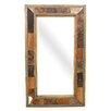 My Amigos Imports Cibolo Creek Cowhide Rustic Mirror