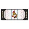 FANMATS NHL - Ottawa Senators Rink Runner Doormat