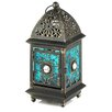 Zingz & Thingz Iron and Glass Lantern