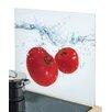 Zeller Present Schneidebrett Tomato Splash aus Sicherheitsglas