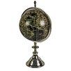 Hazelwood Home World Globe on Aluminium Stand