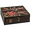 Hazelwood Home British Rose Storage Box