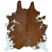 Decohides Brown/White Area Rug