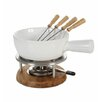 Boska Holland Life Bianco Oak Fondue Set