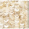 Oliver Gal 'Season Glitter' by Art Remedy Graphic Art Wrapped on Canvas