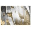 Oliver Gal 'Royal Feathers' by Art Remedy Graphic Art Wrapped on Canvas