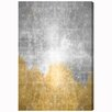 Oliver Gal 'Starry Night Silver' by Art Remedy Graphic Art Wrapped on Canvas