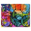 Oliver Gal 'Burst of Color' by Manuel Roman Graphic Art Wrapped on Canvas