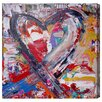 Oliver Gal 'Fallen in Love' by Tiago Magro Art Print Wrapped on Canvas