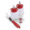 Cuisipro 4-Piece Pastry Cutter and Decoration Set