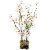 LCG Florals Duo Dogwoods in Glass Bottles