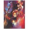 """Castleton Home Paneel """"Hot Jazz"""" von Vega, Kunstdruck"""