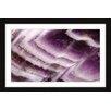 Marmont Hill Amethyst Cliffs Framed Graphic Art