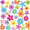 PPS. Imaging GmbH Retro Flowers 2.88m x 288cm Wallpaper