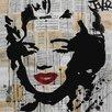Art Group Loui Jover - Marilyn Canvas Wall Art
