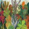 Art Group The Cactus by Shyama Ruffell Canvas Wall Art