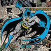 Art Group Batman - Burst Canvas Wall Art